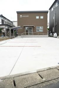cocoan駐車場